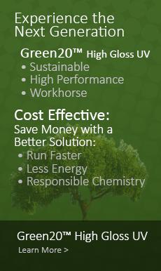 Green 20 Gloss UV Coating