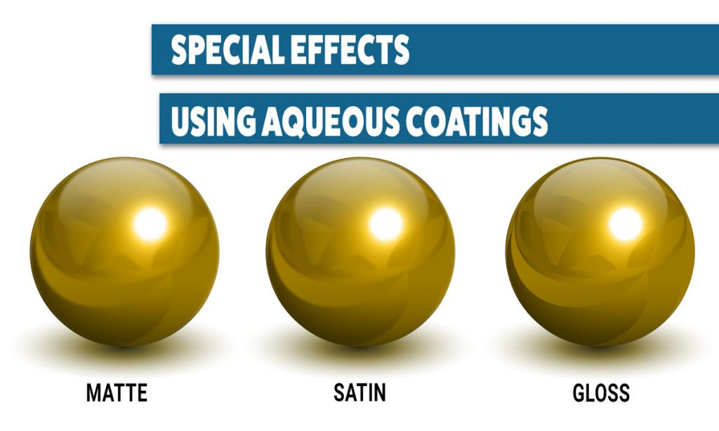 Special Effects Aqueous Coatings